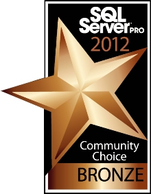 SSMSBoost got bronze SQL Server Pro award