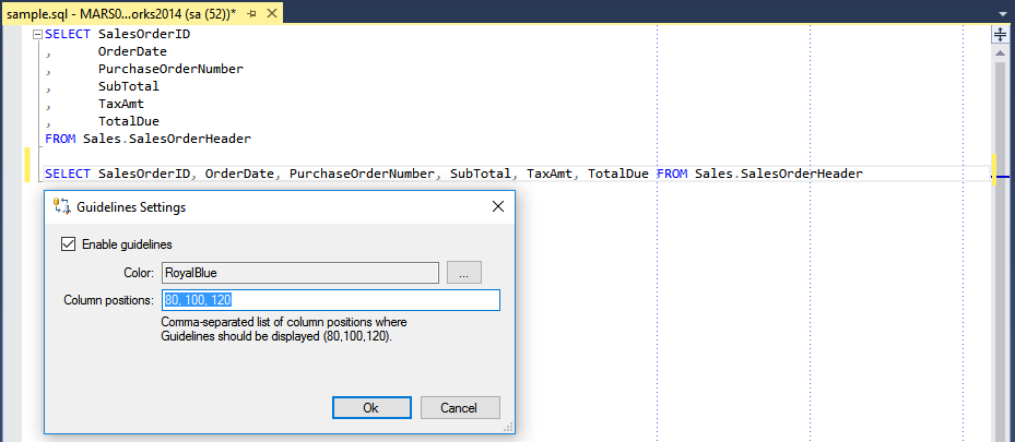 SSMSBoost add-in - productivity tools pack for Sql Server